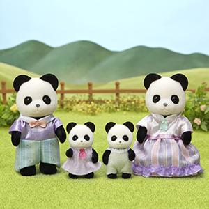 팬더 가족